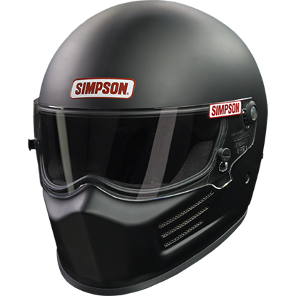 Simpson Racing Bandit Racing Helmet - Matte Black